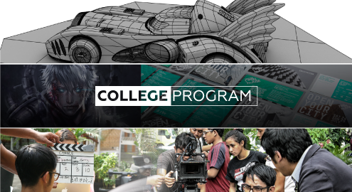 College Program – Intake 2016 : Sekolah Animasi | Sekolah Desain Grafis | Sekolah Film