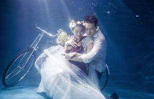 Konsep Foto Pre Wedding Underwater