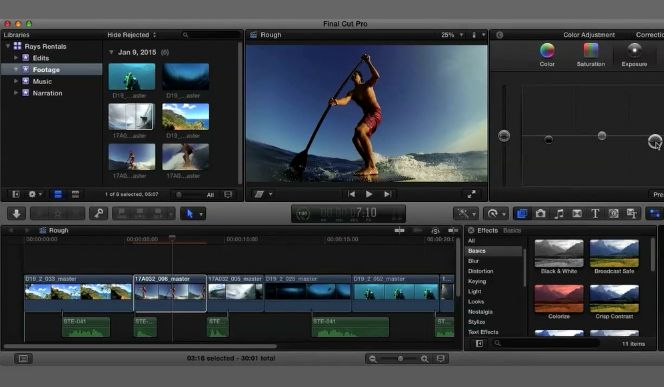 tips membuat video klik dengan final cut pro
