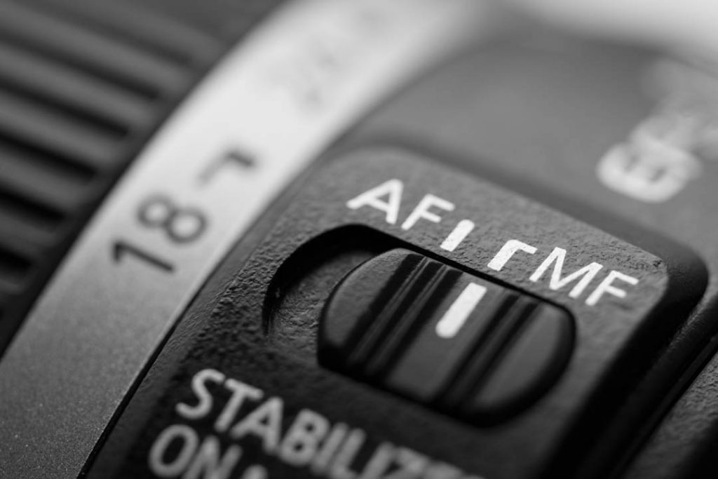 af-mf-switch-on-lens